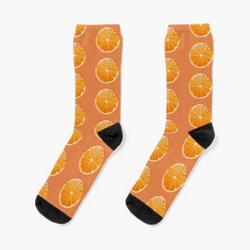 Orange Socken Socken