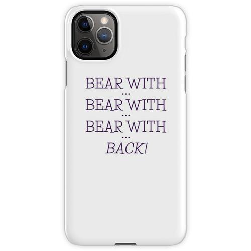 tragen mit ... tragen mit ... iPhone 11 Pro Max Handyhülle