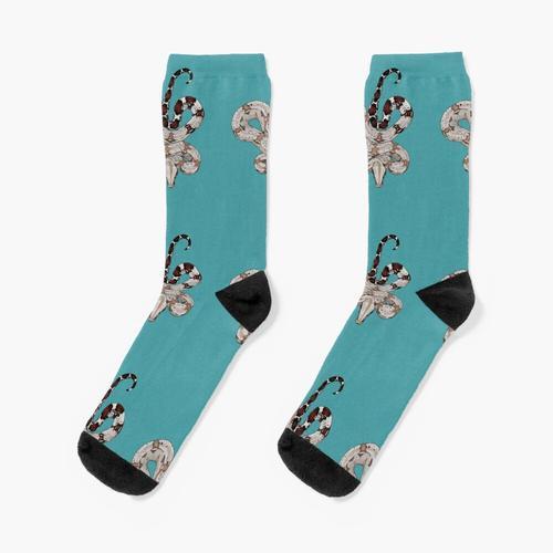 Rotschwanzboa Socken