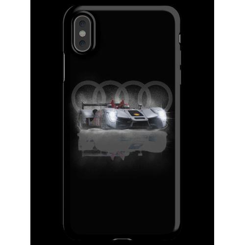Audi Motoracer Design von MotorManiac iPhone XS Max Handyhülle