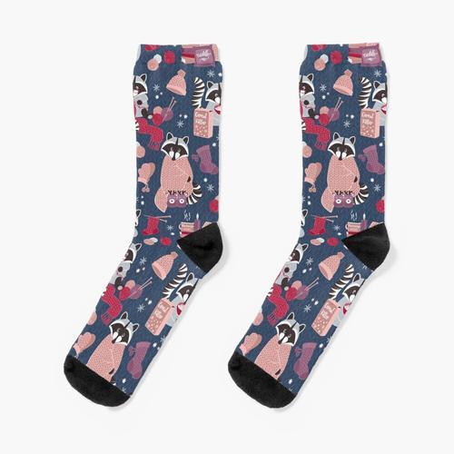 Hygge Waschbär Socken