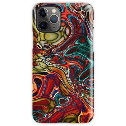 Abstrakte Glasfliese iPhone 11 Pro Handyhülle