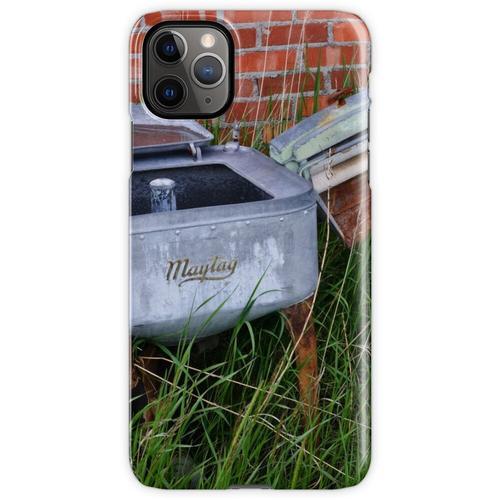 Antique Wringer Waschmaschine und Waschmaschine iPhone 11 Pro Max Handyhülle