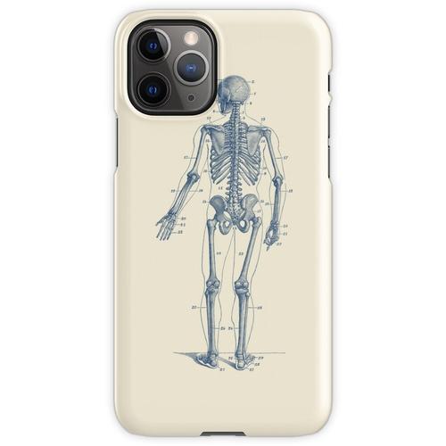 Rückwärtsgerichtetes Skelett-Diagramm iPhone 11 Pro Handyhülle