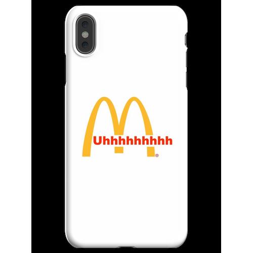 Durchfahrtsbedienung iPhone XS Max Handyhülle