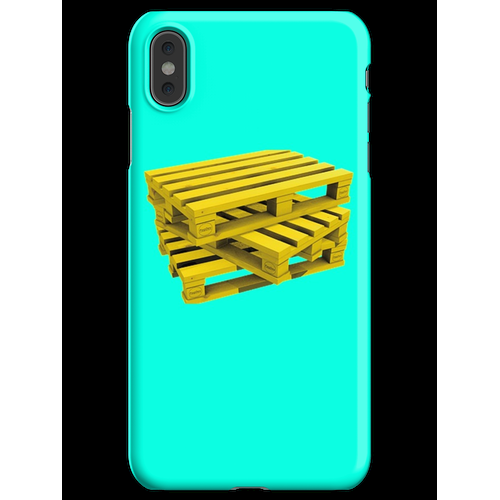 Wood Pallets iPhone XS Max Handyhülle