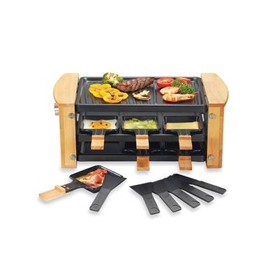 Raclette grill 6 poêlons 900 W K...