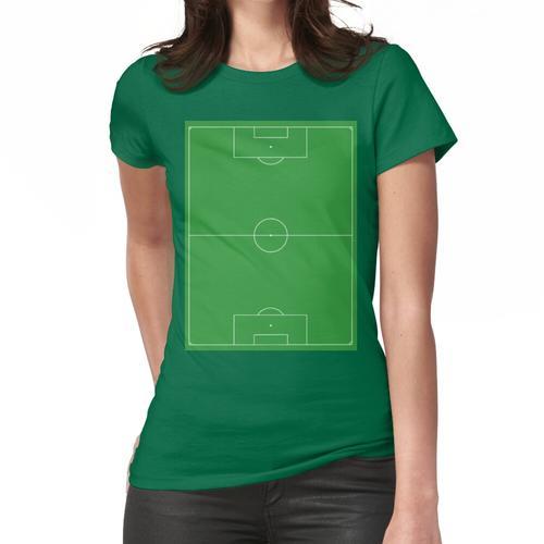 Fußballplatz, Fußballplatz, Fußballplatz, Fußballplatz, Fußball, Fußball, PORTRAIT. Frauen T-Shirt