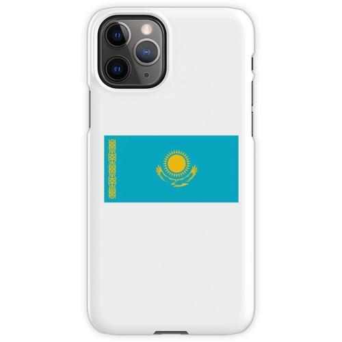 Kasachstan. Kasachstan Flagge. iPhone 11 Pro Handyhülle