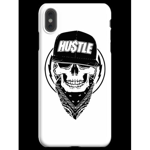 Hustle Skull Bandana iPhone XS Max Handyhülle