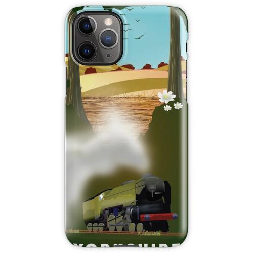 Yorkshire-Eisenbahnplakat iPhone 11 Pro Handyhülle