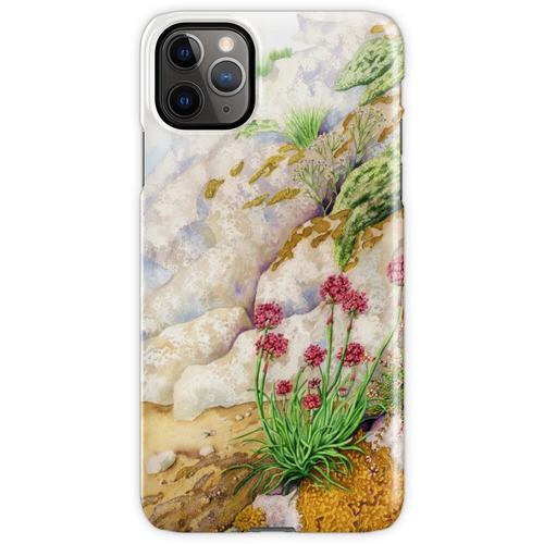 Sea Pink (Mischtechnik auf Papier) iPhone 11 Pro Max Handyhülle