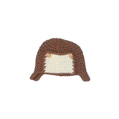 Beanie Hat: Brown...