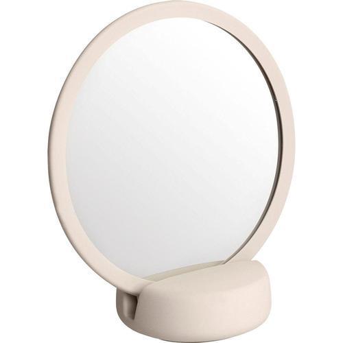 BLOMUS Kosmetikspiegel SONO weiß Damen Schminkutensilien Make Up Kosmetik