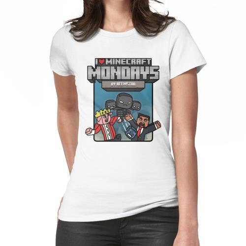 Minecraft Montags Wither Spawning Merch Frauen T-Shirt