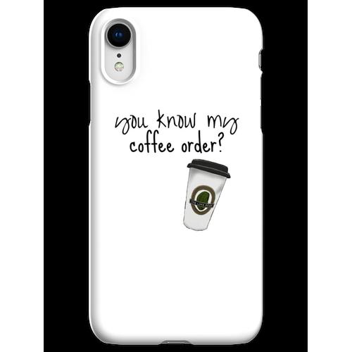 Grande fettfreier Mokka iPhone XR Handyhülle