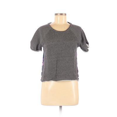 Xhilaration Sweatshirt: Gray Sol...