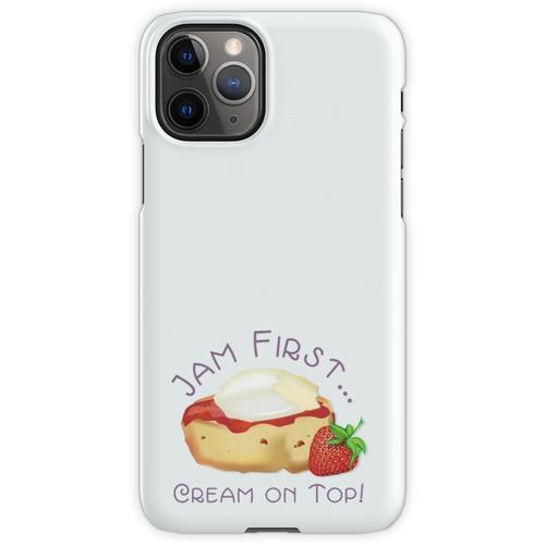 Jam First - Creme an der Spitze! iPhone 11 Pro Handyhülle