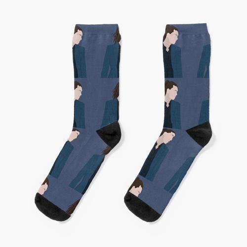 der blaue Anzug Socken
