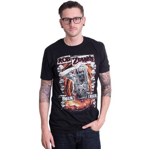 Rob Zombie - Born To Go Insane - - T-Shirts