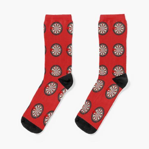 Vintage Darts Dartscheibe Socken