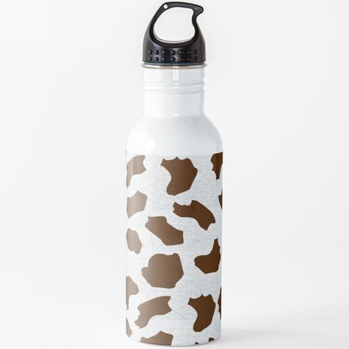 Kuhflecken Wasserflasche