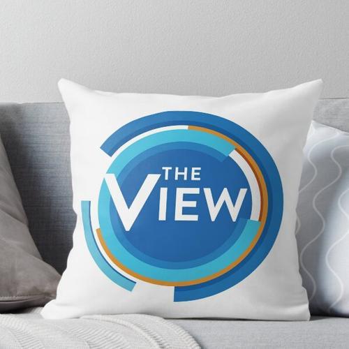 Das View - Talkshow Logo Kissen