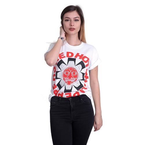 Red Hot Chili Peppers - Aztec White - - T-Shirts