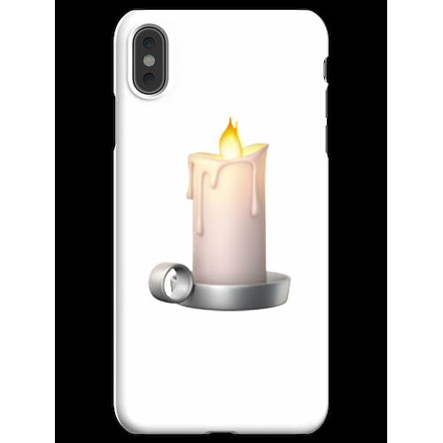 Kerze Emoji iPhone XS Max Handyhülle