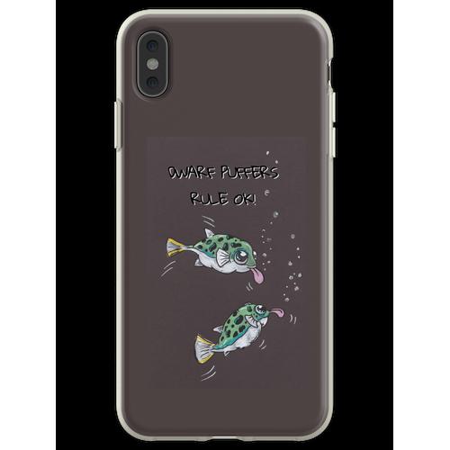 Zwerg Kugelfisch ... sie sind OK! Flexible Hülle für iPhone XS Max
