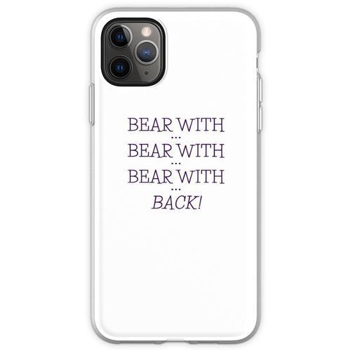 tragen mit ... tragen mit ... Flexible Hülle für iPhone 11 Pro Max