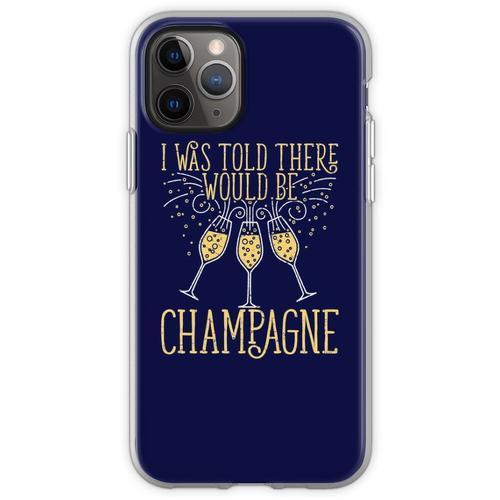 Silvester wurde mir gesagt, es gäbe Champagner Flexible Hülle für iPhone 11 Pro