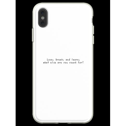 DODIE // LEBENSLICHT Flexible Hülle für iPhone XS Max