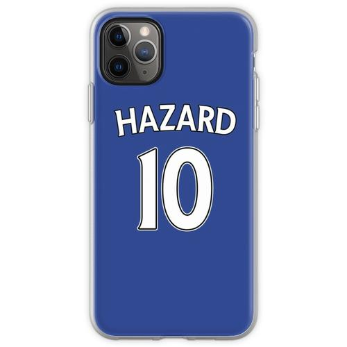 Eden Hazard Chelsea Trikot Flexible Hülle für iPhone 11 Pro Max