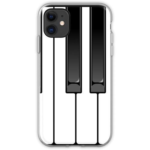Klavier Oktave Flexible Hülle für iPhone 11