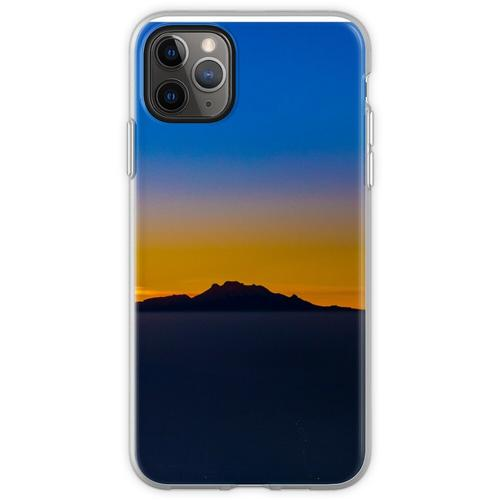 Popocatepetl und Iztaccihuatl Flexible Hülle für iPhone 11 Pro Max