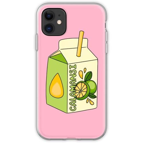 Calamansi Fruchtsaft Box Flexible Hülle für iPhone 11