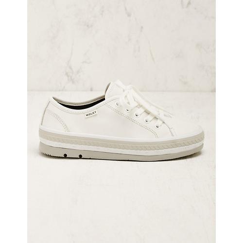 Wolky Damen Leder-Sneaker Minoa creme