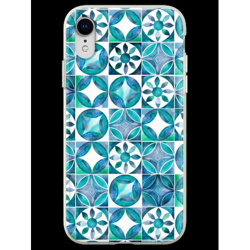 Mediterrane Fliesen Flexible Hülle für iPhone XR
