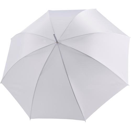 doppler Partnerschirm Big Wedding uni weiß, mit übergroßem Schirmdach weiß Stockschirme Regenschirme Accessoires Unisex
