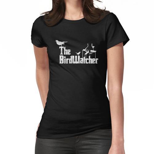 Der Vogelbeobachter Vogelbeobachtung Vogelbeobachtung Vogelliebhaber Vogelbeobachter Frauen T-Shirt
