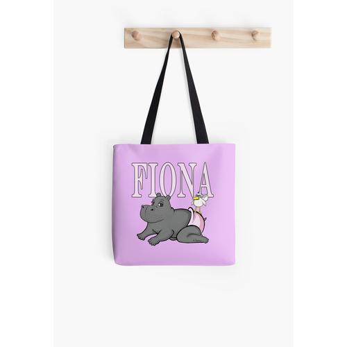 Fiona das Baby Hippo in Windeln Tasche