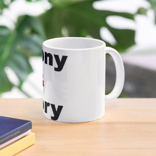Ebony & Ivory Mug