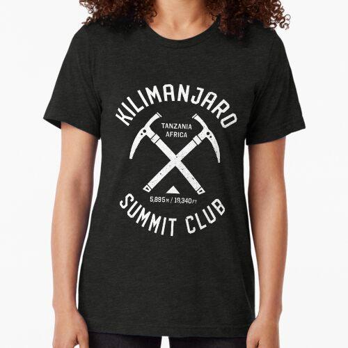 Kilimanjaro Summit Club | I climbed Kilimanjaro Tri-blend T-Shirt