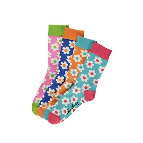 Deerberg Damen 4er Pack Socken Devica bunt