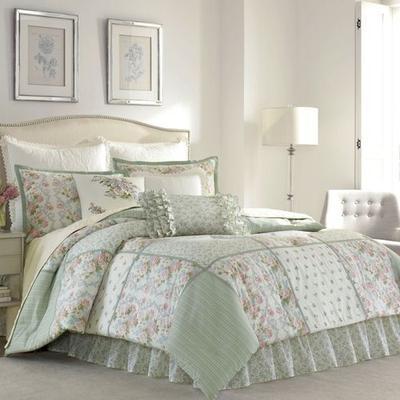 Harper Comforter Set Celadon, Full / Double, Celadon