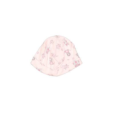 Beanie Hat: Pink Floral Accessories - Size 3 Month