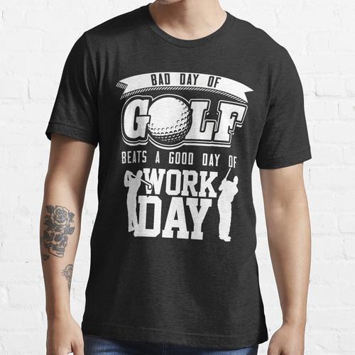 GOLF-T-SHIRT - SCHLECHTER TAG DES GOLF-HEMD-LUSTIGEN GOLF-HEMDES Essential T-Shirt
