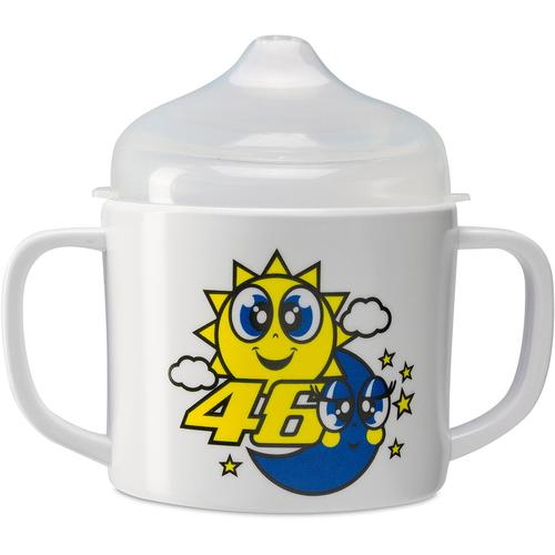VR46 Sun and Moon Babytasse, blau-gelb