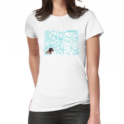 Mafalda zeichnet Buntstift Frauen T-Shirt